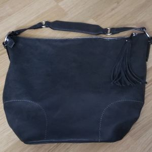Nine West Brown Hobo Bag Synthetic Material